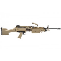 "FN M249S 5.56NATO 18.5"" BLT FDE"